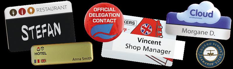 Créez vos badges personnalisés en ligne