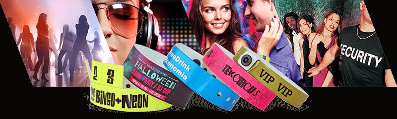 Bracelets pour discothèques