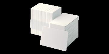 Cartes PVC vierges - 250 mic