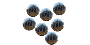 Badges Boutons 25 mm, rond