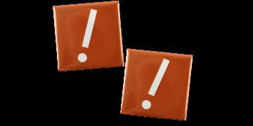 Badges Boutons 40X40 mm, carré