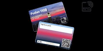 Cartes RFID 86 x 54 mm Imprimées - Puce Fudan 1108
