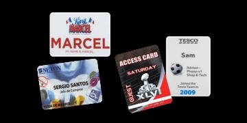Badges Event 55mm X 75mm (PVC)