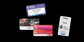 Badges Event 70mm X 40mm (PVC)
