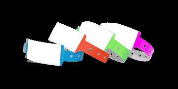 Bracelets en Vinyle 25 mm inscriptibles à la main